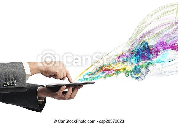 τεχνολογία , δημιουργικός  - csp20572023