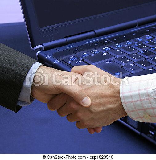 τεχνολογία , συμφωνία  - csp1823540