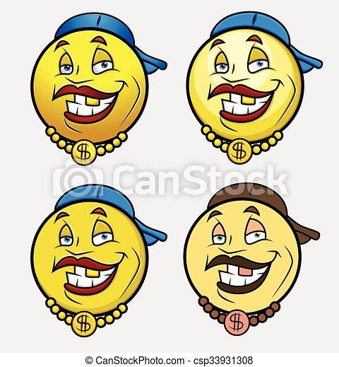 τραγουδιστής , μικροβιοφορέας , εκστομίζω , smiley , emoji - csp33931308