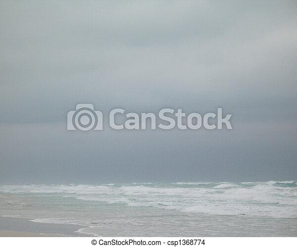 τροπικός , θαλασσογραφία  - csp1368774