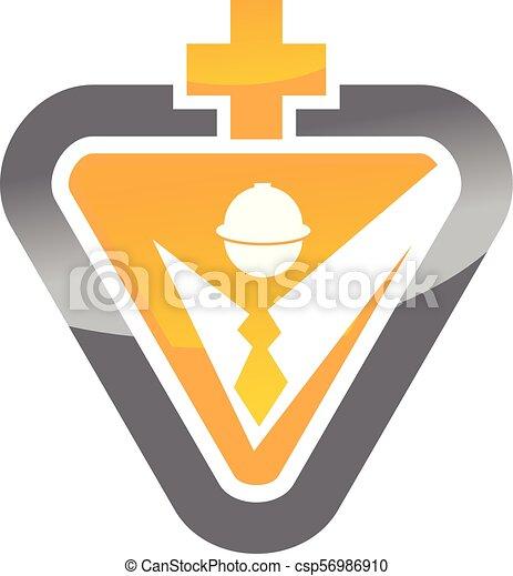 υγεία , ασφάλεια , εργάτης  - csp56986910