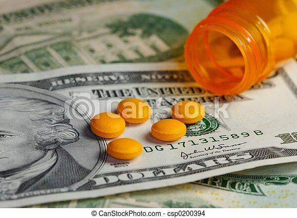 φάρμακο , χρήματα , &  - csp0200394