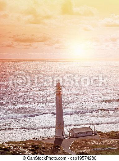 φάρος , παραλία  - csp19574280