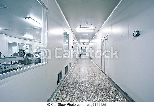 φαρμακευτικός , γραμμή , παραγωγή , τεχνικός , εργαζόμενος  - csp9126525