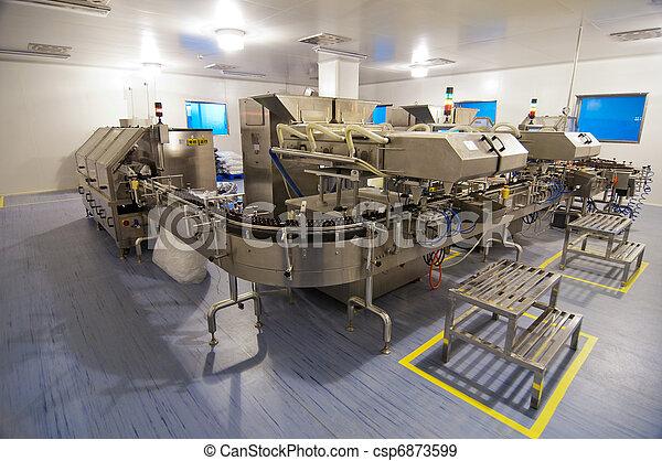 φαρμακευτικός , εργοστάσιο  - csp6873599