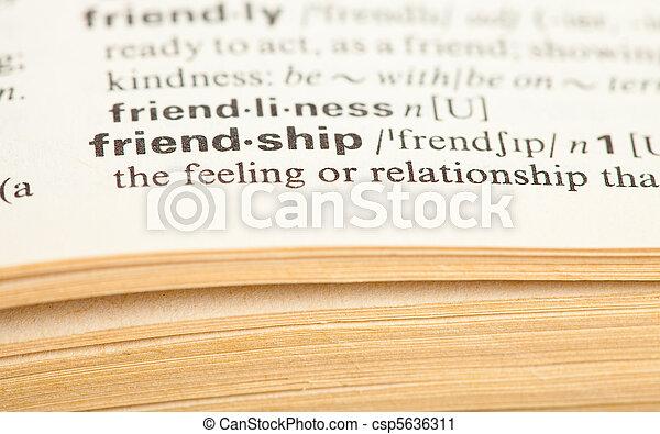 φιλία  - csp5636311