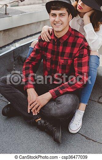 φιλενάδα , άντραs  - csp36477039