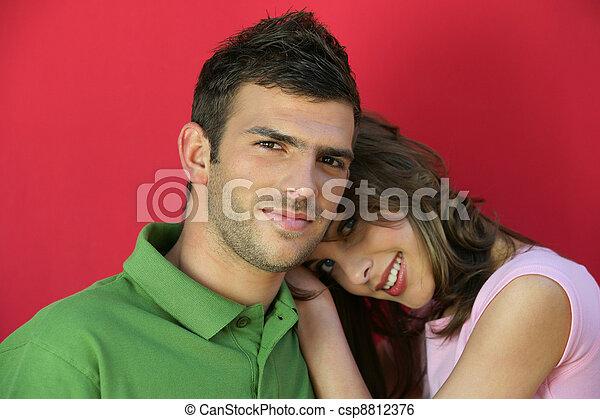 φιλενάδα , ώμοs , κλίση , boyfriend's - csp8812376