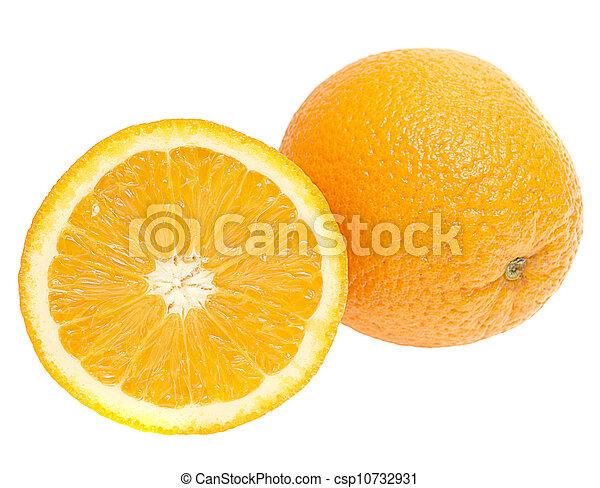 φρέσκος , αγαθός φόντο , απομονωμένος , πορτοκαλέα  - csp10732931