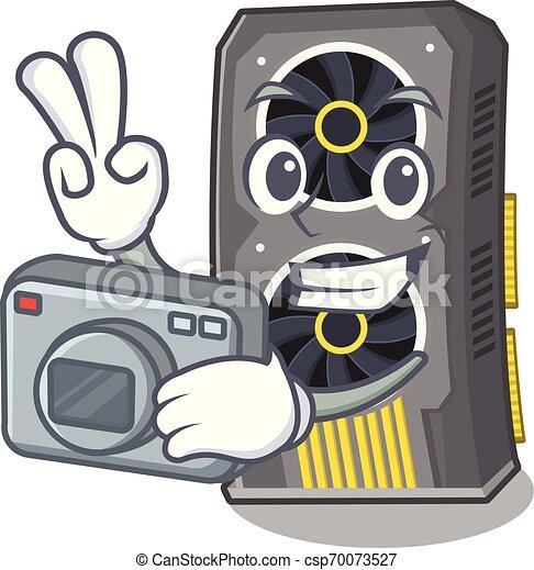 φωτογράφος , χαρακτήρας , pc , βίντεο , graphics , κάρτα  - csp70073527