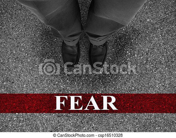 φόβος , επιχείρηση  - csp16510328