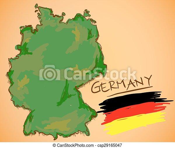 χάρτηs , εθνικός , μικροβιοφορέας , germany αδυνατίζω  - csp29165047