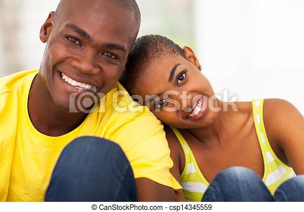 χαριτωμένος , ζευγάρι , μαύρο , ανακριτού αδιαπέραστος  - csp14345559