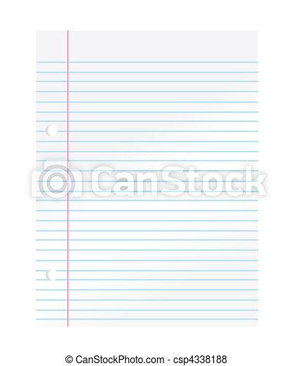 χαρτί , σημειωματάριο  - csp4338188