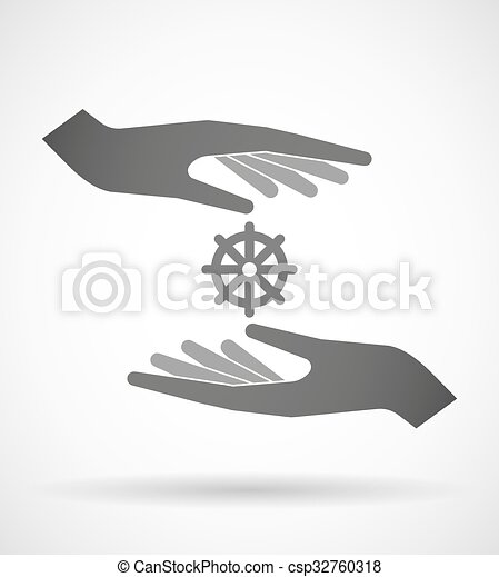 χορήγηση , δυο , σήμα , dharma , ανάμιξη , chakra , προασπίζω , ή  - csp32760318
