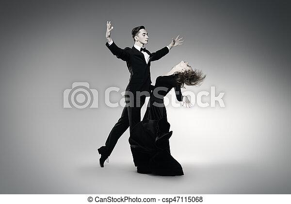 χορεύω , έκφραση , ταγκό  - csp47115068