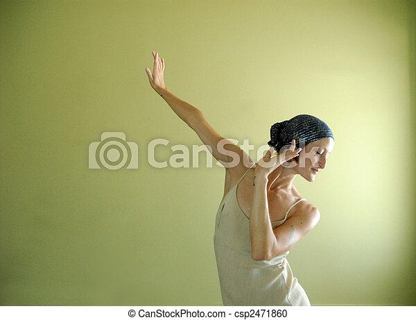 χορεύω , έκφραση  - csp2471860