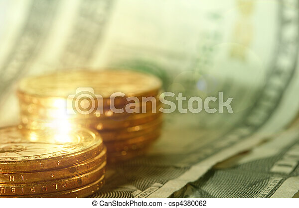 χρήματα , γκρο πλαν  - csp4380062