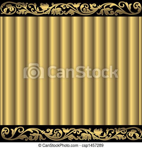 χρυσαφένιος , αφαιρώ , φόντο  - csp1457289