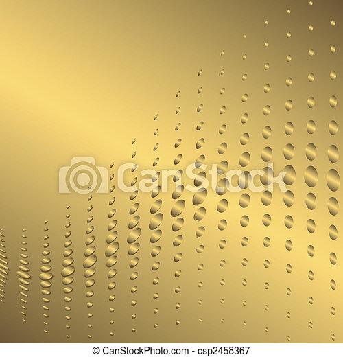 χρυσαφένιος , αφαιρώ , φόντο , (vector) - csp2458367