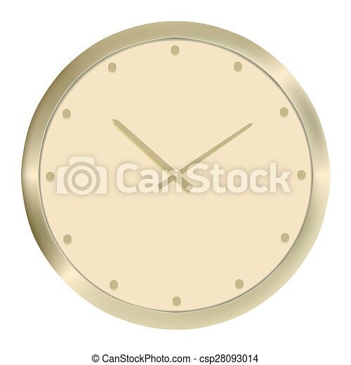 χρυσαφένιος , μικροβιοφορέας , clock., εικόνα  - csp28093014