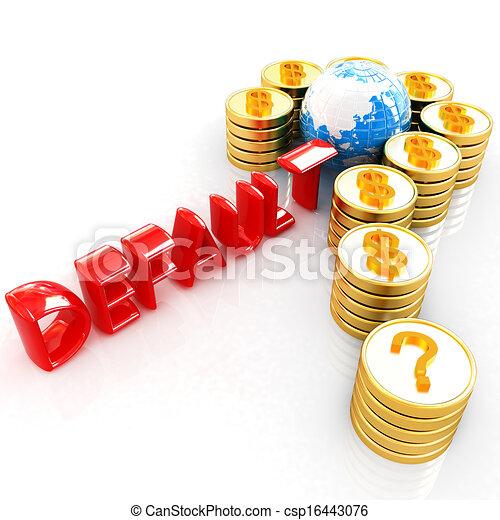 χρυσός , μορφή , ερώτηση , κέρματα , δολάριο , σημαδεύω , σήμα  - csp16443076