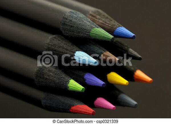 χρώμα , γράφω  - csp0321339