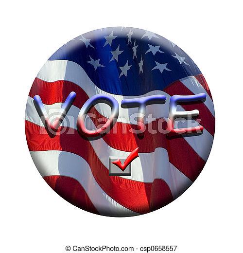 ψηφίζω  - csp0658557