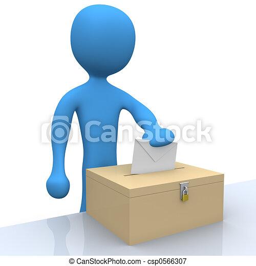 ψηφοφορία  - csp0566307