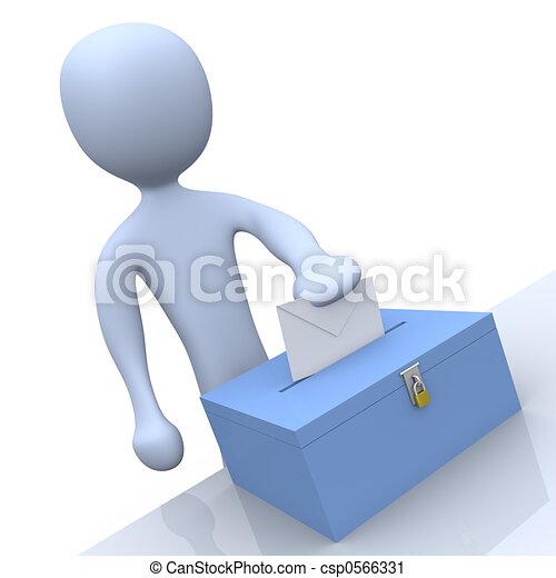 ψηφοφορία  - csp0566331