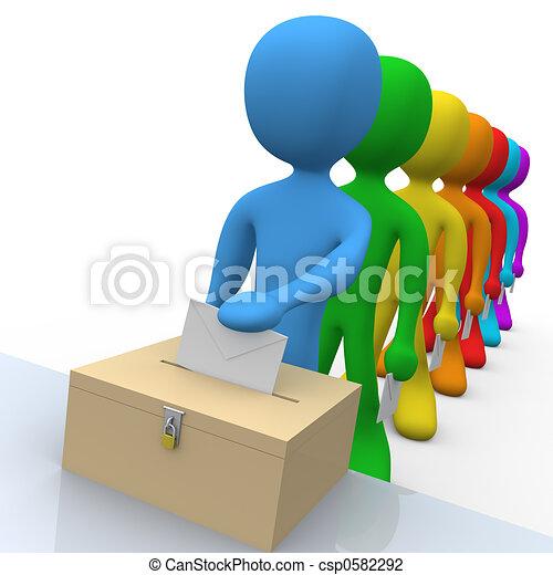 ψηφοφορία  - csp0582292