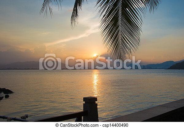 όμορφος , ηλιοβασίλεμα  - csp14400490