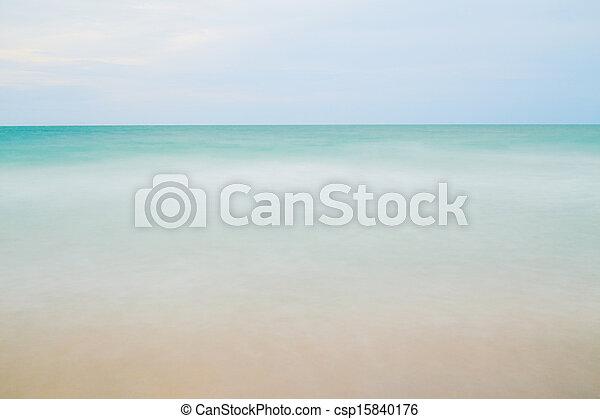 όμορφος , θαλασσογραφία  - csp15840176