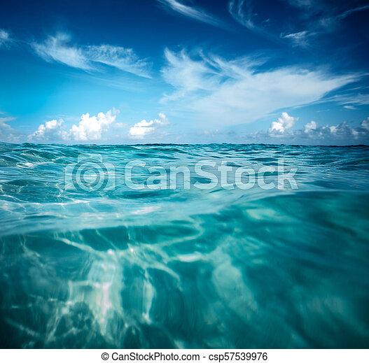 όμορφος , θαλασσογραφία  - csp57539976