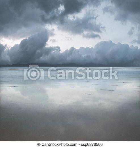 όμορφος , θαλασσογραφία  - csp6378506