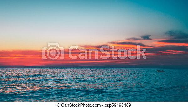 όμορφος , θαλασσογραφία  - csp59498489