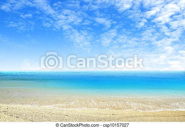 όμορφος , θαλασσογραφία  - csp10157027