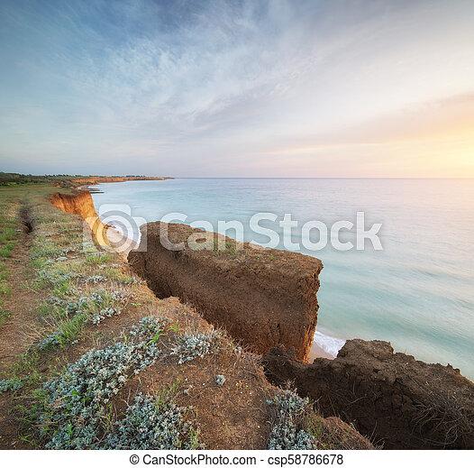 όμορφος , θαλασσογραφία , φύση , γκρεμόs  - csp58786678
