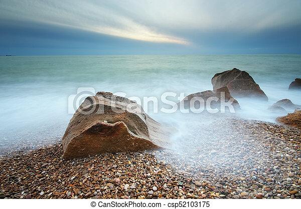 όμορφος , θαλασσογραφία , φύση  - csp52103175