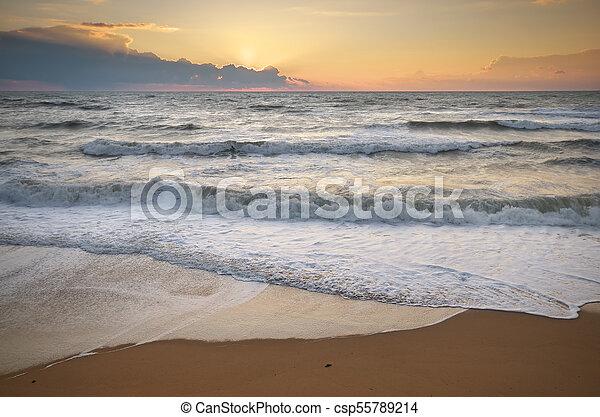 όμορφος , θαλασσογραφία , φύση  - csp55789214