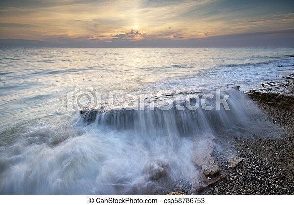 όμορφος , θαλασσογραφία , φύση  - csp58786753