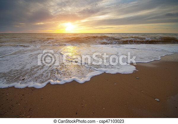 όμορφος , θαλασσογραφία , φύση  - csp47103023