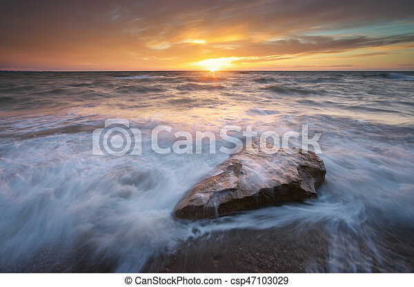 όμορφος , θαλασσογραφία , φύση  - csp47103029