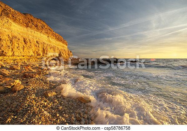 όμορφος , θαλασσογραφία , nature. - csp58786758