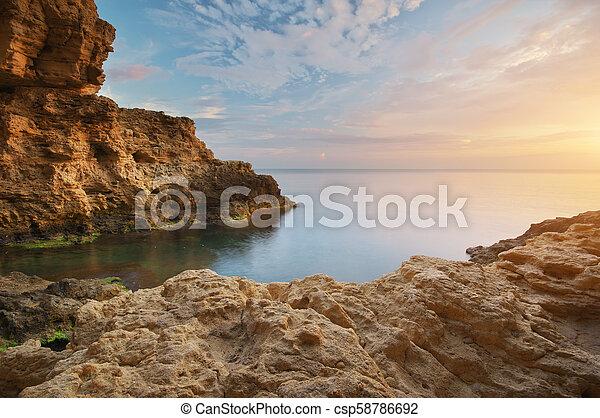 όμορφος , θαλασσογραφία , nature. - csp58786692