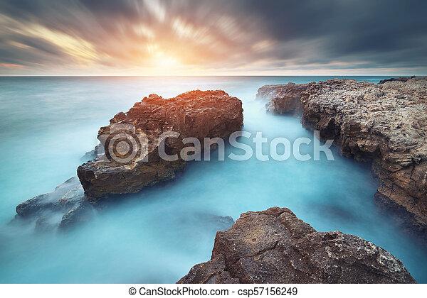 όμορφος , θαλασσογραφία , nature. - csp57156249