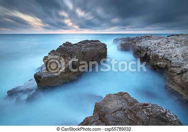 όμορφος , θαλασσογραφία , nature. - csp55789032