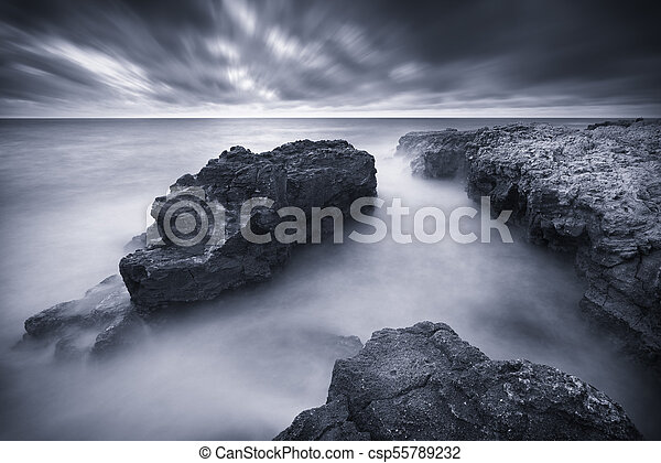 όμορφος , θαλασσογραφία , nature. - csp55789232