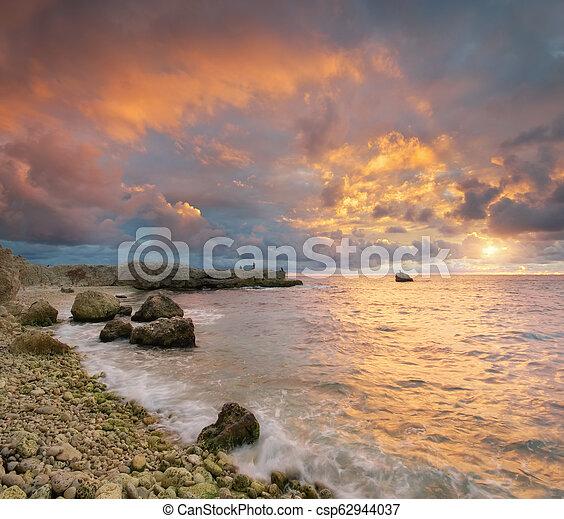 όμορφος , θαλασσογραφία , nature. - csp62944037