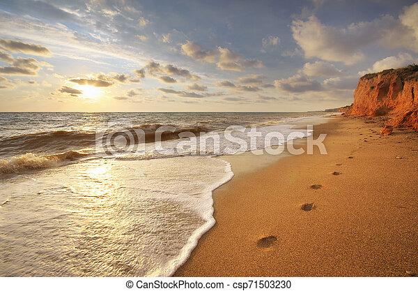 όμορφος , θαλασσογραφία , nature. - csp71503230
